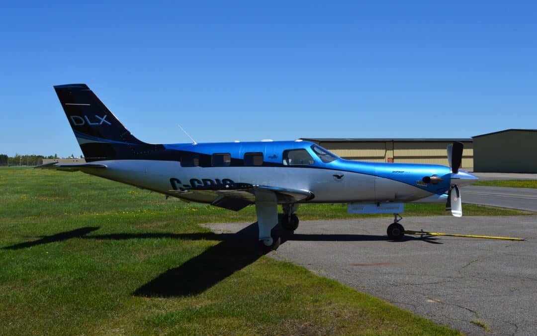 Piper Jet Prop Custom Paint