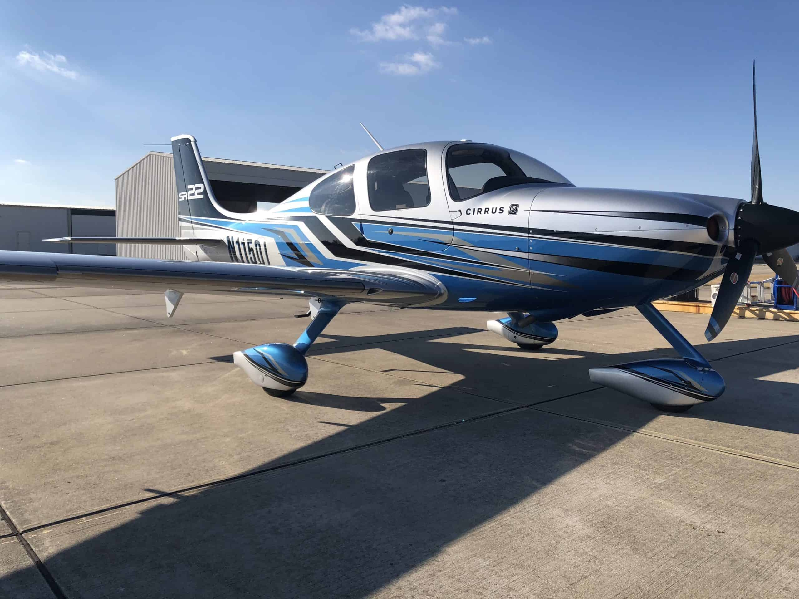 refinished aircraft exterior