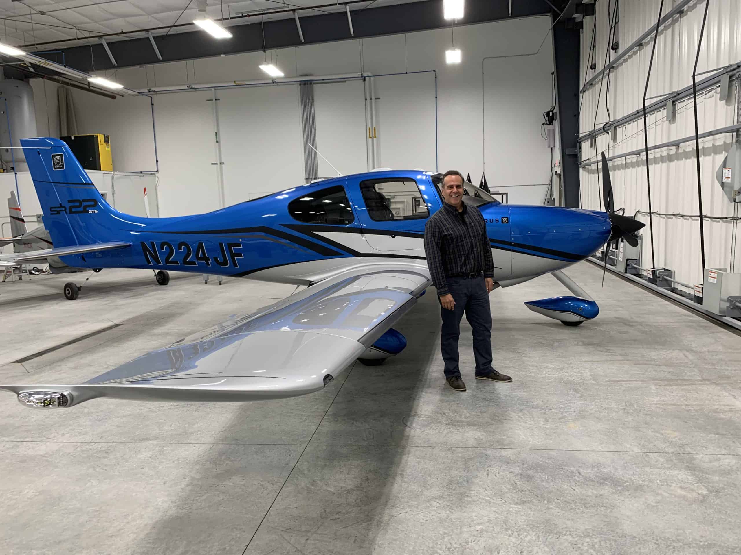 owner and his aircraft