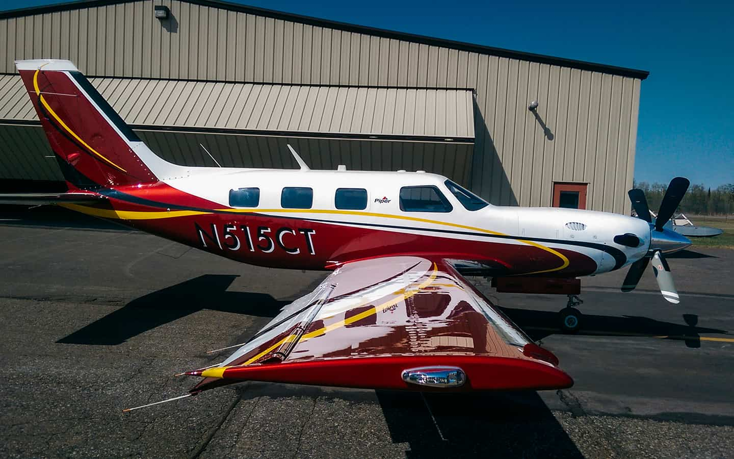 Homepage Gallery Piper Aircraft Exterior refinishing